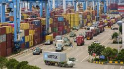 China's foreign trade up 22.7 per cent in first three quarters