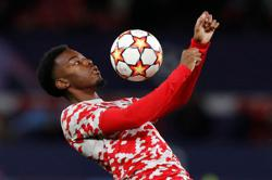 Soccer-Man Utd winger Elanga racially abused while playing for Sweden U-21s