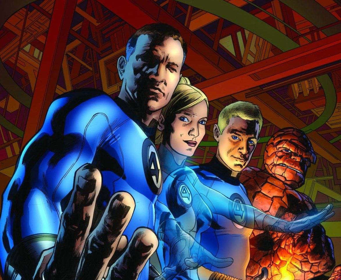 Mark Millar's run on the Fantastic Four title would make for a great cinematic story.