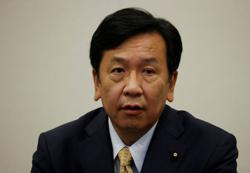 Japan's main opposition calls for 'wealth distribution first' ahead of election