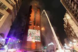 Taiwan building inferno kills 46, dozens injured (update)