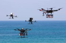 Flying sushi: Israel readies for delivery drone traffic jams