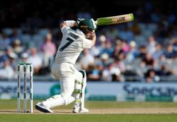 Cricket-Paine 'devastated' by Pucovski blow, backs Harris to open