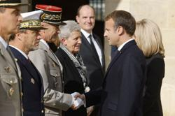 France's Macron pays tribute to last survivor of WW2 liberation order