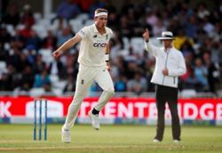 Cricket-England's Broad says he is 'fit and firing' for Ashes