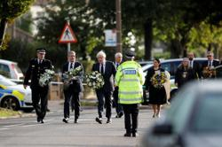 UK PM Johnson visits church where lawmaker stabbed to death