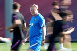 Soccer-Barca coach Koeman hints at Aguero debut, Ansu Fati start