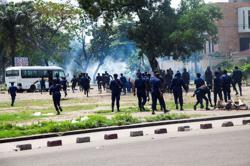 Congo protests turn violent as lawmakers select electoral commission chief
