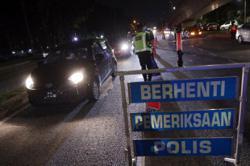 Eleven arrested for drink-driving during KL traffic ops