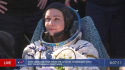 Russian actor and director making first movie in space return to Earth after 12-day mission