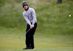 Golf-European quartet set world record for fastest hole