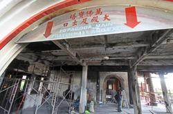 Kek Lok Si Temple stays opens as repair work to burnt section starts