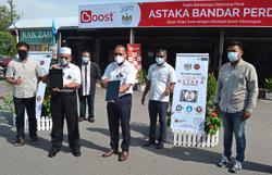 Pilot project at Astaka Bandar Perda offers free WiFi