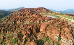 500 million-year-old red stone forest to be scenic spot