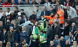 Soccer-Spurs' Reguilon, Dier hailed after fan collapsed at Newcastle game