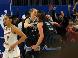 WNBA-Sky beat Mercury to claim first championship