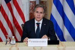 U.S. Secretary of State Blinken discusses Afghanistan with Qatar
