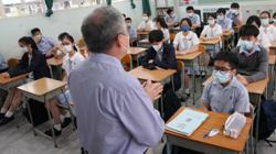 Teachers at Hong Kong's kindergartens, semi-private schools next in line for Basic Law test, education chief says