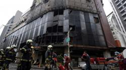 Two questioned over deadly Taiwan blaze which killed 46 people