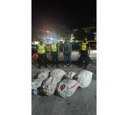 Man travelling to Selangor arrested in Perak with 60kg of ketum leaves