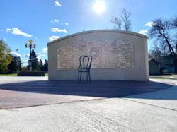 Hometown salute: new art tribute to Dylan on display outside Minnesota school
