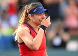 Tennis-Badosa says nothing is impossible after Indian Wells success