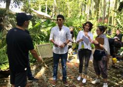 HK actor Edward Chui shoots Malaysian film in Perak