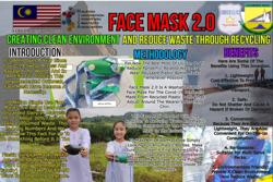 Innovative face mask from Ranau students wins international competitions