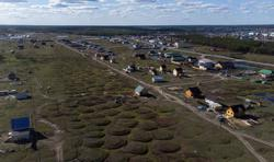 Russia's remote permafrost thaws, threatening homes and infrastructure