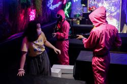 Red light, green cash: Squid Game helps revive Indonesian cafe