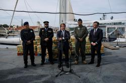 Record haul of cocaine seized from sailboat off Portugal's coast