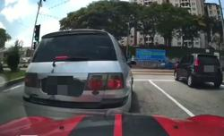 Police call in driver of MPV, car after traffic incident footage goes viral