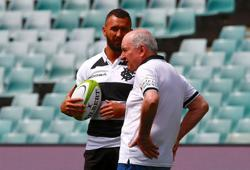 Rugby-Cooper 'not 100% sure' if he will be with Wallabies in UK