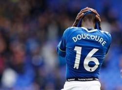 Soccer-Everton say Doucoure does not need surgery for foot injury
