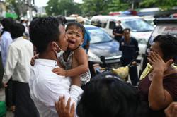 Myanmar anti-junta protesters reunited with families in junta amnesty