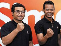 Fadhil and Shah Firdaus can fight for podium spots in France