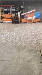 Grapefruit-sized hail hits Australia's east coast