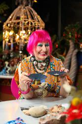 British designer Zandra Rhodes teams up with Ikea to offer limited collection
