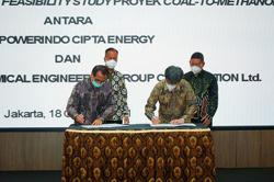 Indonesian-Chinese consortium begins study on US$560mil coal-to-methanol plant