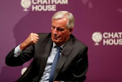 Barnier talks tough on immigration in quest for France's centre-right presidential ticket