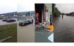 Flash floods hit several neighbourhoods in Klang, 31 evacuated to relief shelters