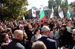 Hundreds protest against Bulgaria's COVID health pass