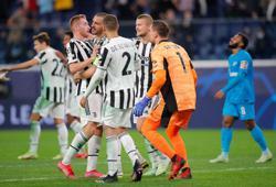 Soccer-Kulusevski strikes late to earn Juventus win over Zenit
