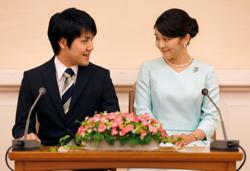 Japan princess overcomes money scandal, PTSD to marry college sweetheart