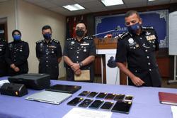 Johor cops bust training centre for Macau scam syndicate recruits