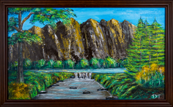 Virtual exhibition of Sabah Governor's art on display in conjunction with his 68th birthday