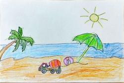 Starchild: Malaysian children enjoy having fun in the sun
