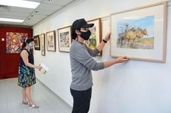 Physical gallery for their art again