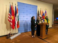 At United Nations, Afghan women appeal: don't let Taliban in