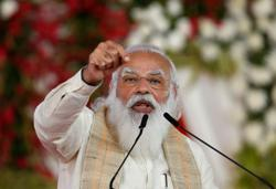 India PM Modi says economy getting boost from rising vaccinations